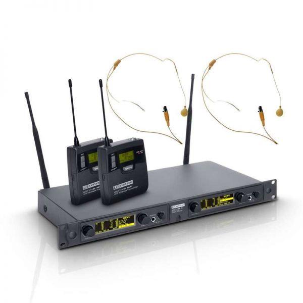 LD Systems WIN 42 Serie Funkset: 2xBeltp.+2xHeadse
