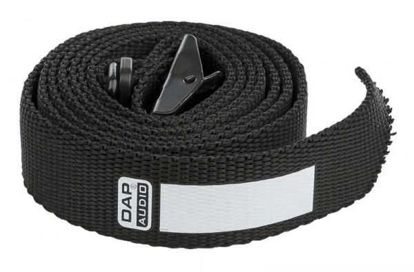 DAP-Audio Cable Strap, schwarz, 25x1500mm