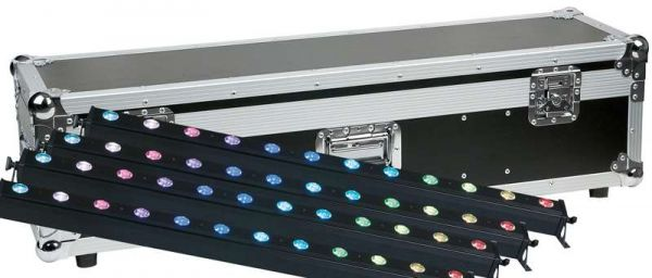 Showtec Led Light Bar 12 Pixel RGBW incl. Case