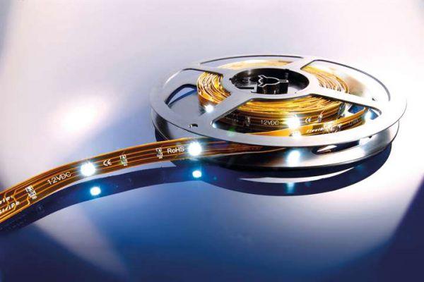 KAPEGO LED Stripe CW 10m 24V IP20 300 LEDs