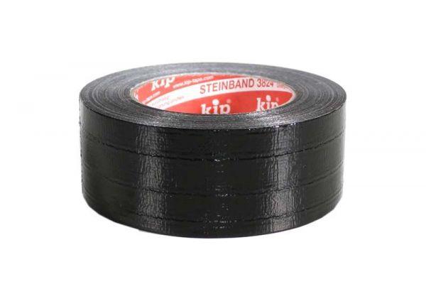 KIP Gaffa Tape Rookie schwarz 50,0 Meter lang