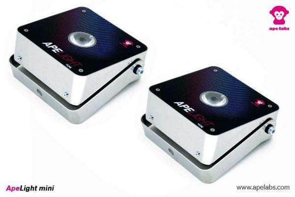APE LABS ApeLight Mini, 2xakkubetriebener LED Spot