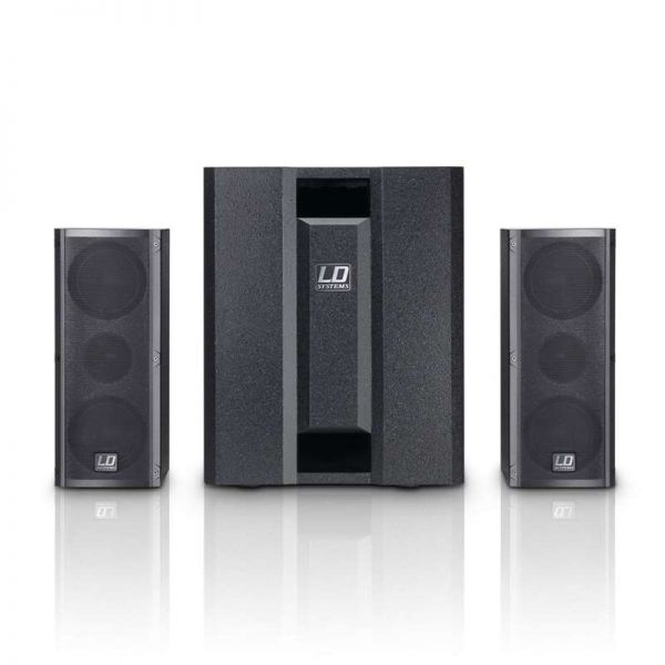 LD Systems DAVE 8 ROADIE Portables PA-System mit 3