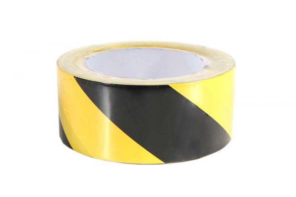 KIP Gaffa Warndruck schwarz/gelb 33m