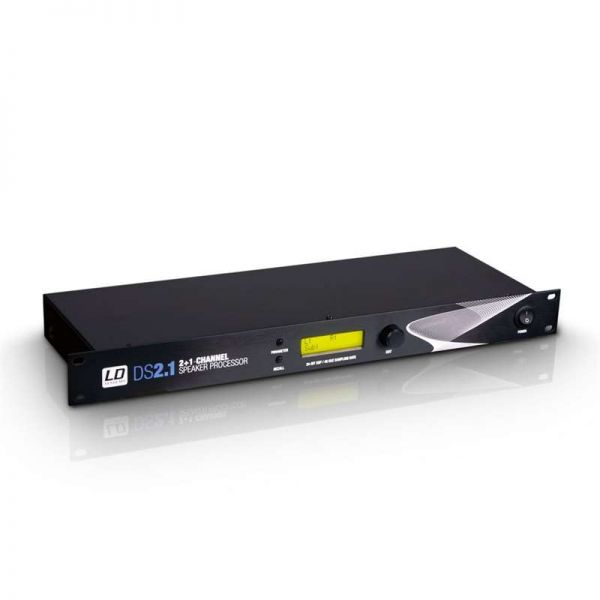 LD Systems DS 21 - 19 Zoll DSP Controller 3-Kanal