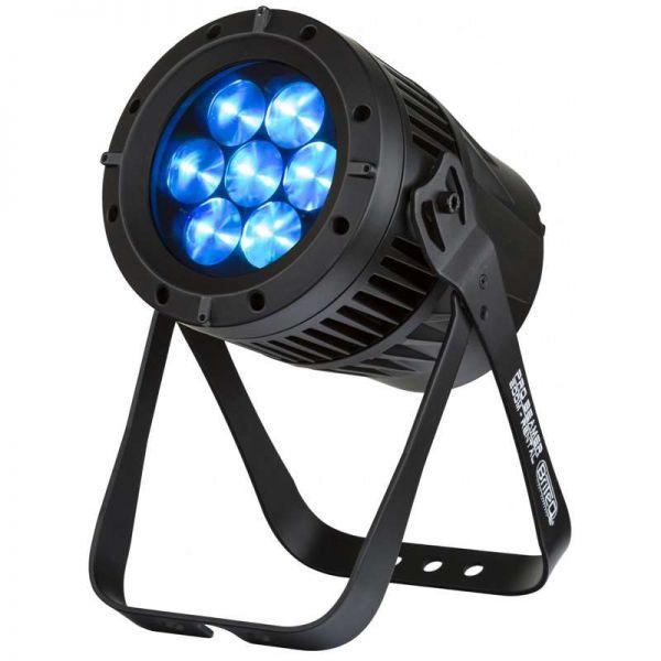 Briteq Pro Beamer Zoom mit 7x12 Watt Quad LEDs