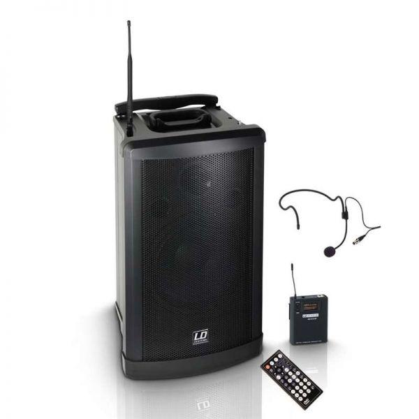 LD Systems Roadman 102 Mobiler Lautsprecher+Headse