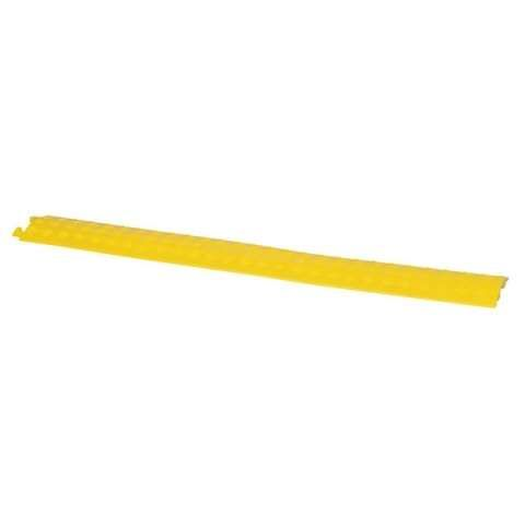 Showtec Cable Cover 3 Yellow ABS