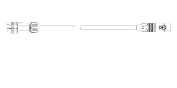 EHRGEIZ Kabel Adapter eventCON/XLR-3 DMX Out 2m