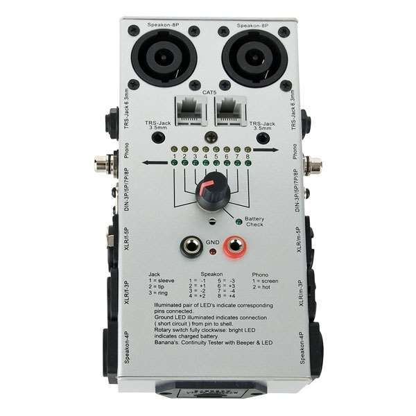 DAP Audio Kabeltester Pro