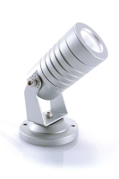 KAPEGO LED Mini 230V 3W silber CW IP65