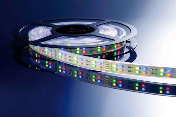 Kapego LED Stripe RGB+WW 5m 12V IP20 720 LEDs