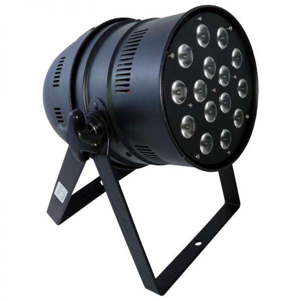 PTL PAR64er RGBW LED 15x 8 Watt schwarz