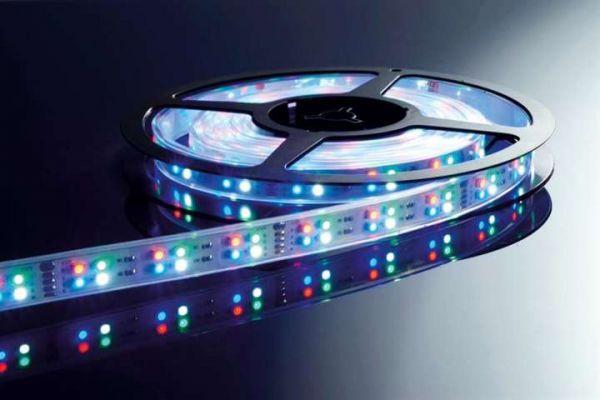 Kapego LED Stripe RGB+CW 5m 12V IP65 720 LEDs