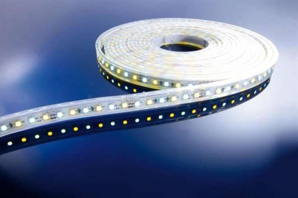 Kapego LED Stripe WW+CW 5m 12V IP65 600 LEDs