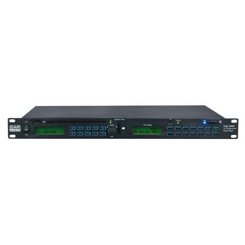 DAP-Audio TCD-100BT 1U Professional Media Player
