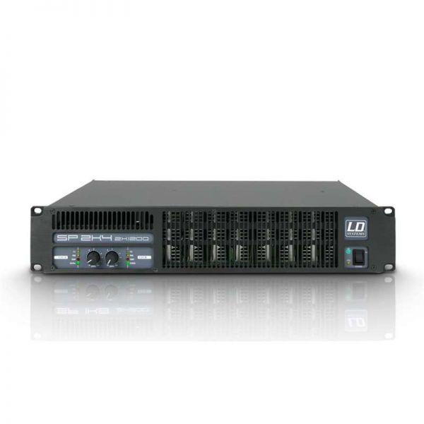 LD Systems SP 2K4 - PA Endstufe 2 x 1190 W 2Ohm