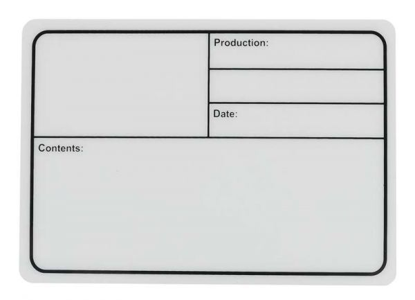 DAP-Audio Flightcase Label 177x127mm