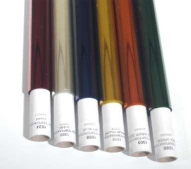 VARYTEC HT Farbfilterfolien orange 4,00 x 1,22