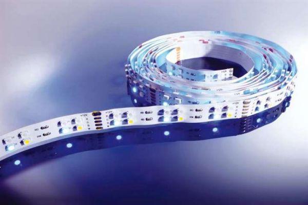 Kapego LED Stripe RGB+CW 5m 12V IP20 720 LEDs