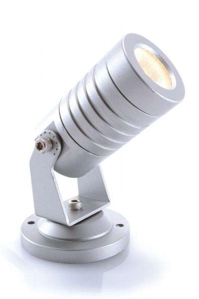 KAPEGO LED Mini 1 24V 3W silber WW IP65 3000K