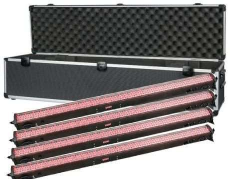 Showtec LED Light Bar 8 RGB incl. Case