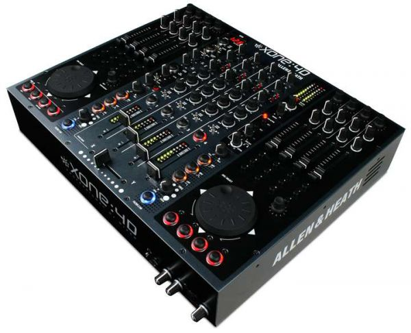 Allen & Heath Xone:4D DJ-Mixer inkl. Midi-Control