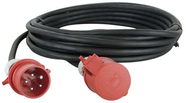 Showtec Extension Cable, 3x 32A 380V 10 m/5 x 4 mm