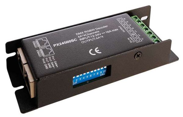 Kapego Controller, Dimmer R-DMX 3+1 DMX512 RJ45