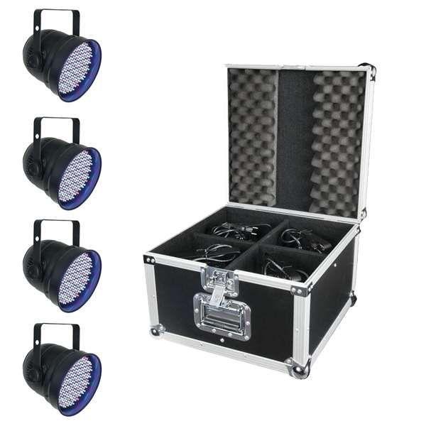 Showtec LED Par 56 Eco Set chrom
