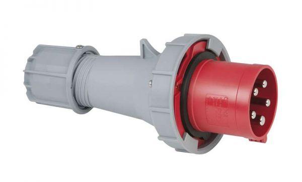 PCE CEE 63 Ampere, 400 Volt, 5pol Stecker rot IP67
