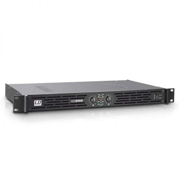LD Systems XS 200 PA Endstufe Class D 2x100 Watt