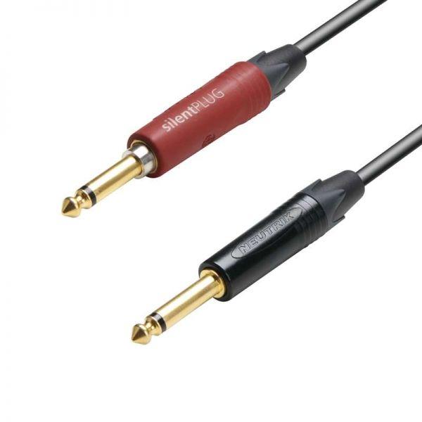 Adam Hall K5IPP0300SP Instrumentenkabel 6,3mm 3,0M