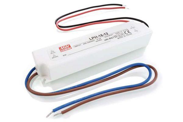 MEAN WELL Schaltnetzteil 12V 60W 5,0A IP67