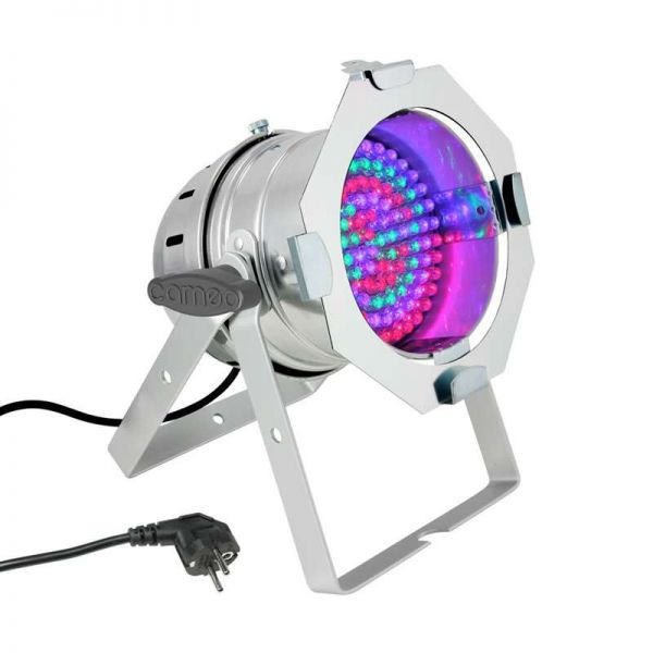 Cameo PAR56 108x10mm LED RGB Floor chrom, Demo