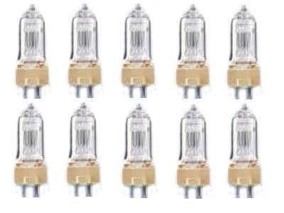 10x A1 Leuchtmittel 230Volt/500 Watt