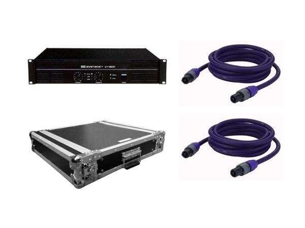 EE-Systems V-1600 AMP & Case & 2x20 Meter LS-Kabel