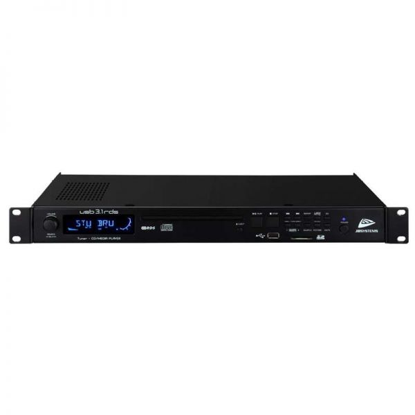 JB Systems USB 3.1-RDS, 1HE RDS Player