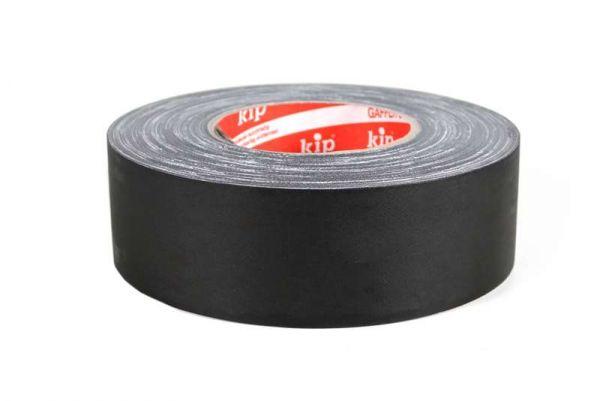 KIP Gaffa Tape Pro matt schwarz 50,0 Meter lang